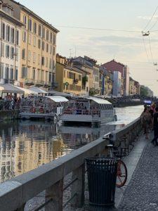 ミラノのナヴィリオ(運河)