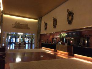 5☆ホテルのロビー