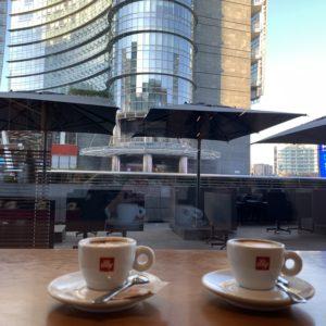 イタリアのカフェはおいしい