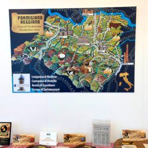 パルミジャーノ レッジャーノの生産地