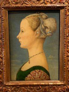 ポッライオーロ 若い女性の肖像